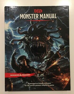 AU55 • Buy Dungeons & Dragons Monster Manual 5th Edition