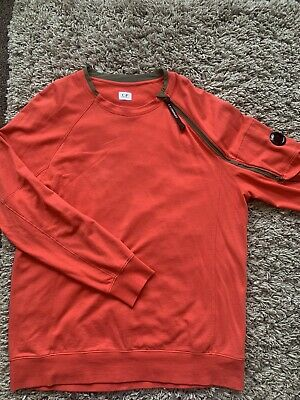 £72 • Buy CP Company Red Top Shoulder Zip Used XXL Immaculate Condition