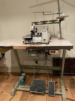 £150 • Buy Brother 5 THREAD Industrial Overlocker Machine MA4-B551 Used Working Collect NW1