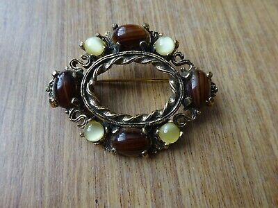 £5.50 • Buy Beautiful Vintage Scottish Brooch Signed Miracle