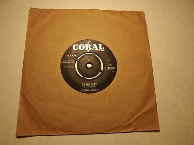 £4.99 • Buy 45rpm....Buddy Holly......Bo Diddley.....It's Not My Fault.....Rock N Roll