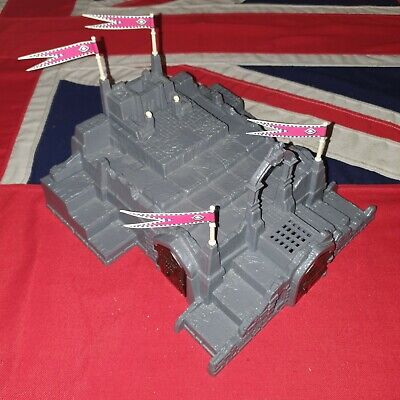 AU1.86 • Buy DARK WORLD Board Game SPARE PARTS 3D Castle 4 Flags Dungeons & Dragons Scenery