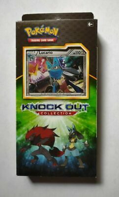 $18 • Buy Pokemon Lucario Knockout Collection Box Booster Cards Packs Coin SEALED