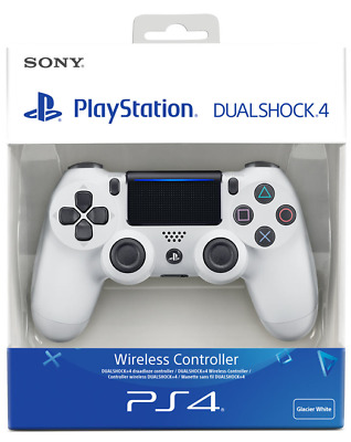 £34.95 • Buy Official Sony PlayStation 4 White DualShock 4 V2 PS4 Controller BNIB Free Post
