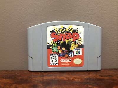 $10.80 • Buy Pokemon Snap N64 (64, 1999) Authentic, Cleaned & Working!