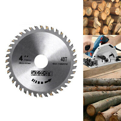 £4.39 • Buy 110mm Circular Saw Blade Disc Wood Cutting 4  40 Teeth Fits For Angle Grinder