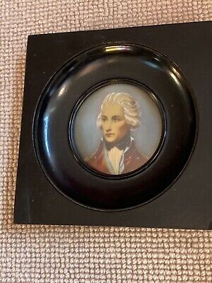£10 • Buy Miniature - Oil Painting - Admiral Nelson (?)