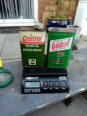 £15 • Buy Castrol Oil Cans, Full 1 Litre Cans.