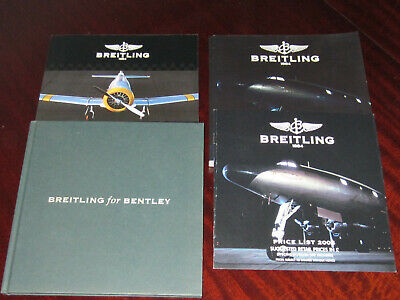 £9.99 • Buy Breitling Catalogue,s 2006/2008 And Bentley Good Used Condition