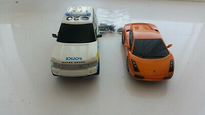 £40 • Buy Scalextric  Range Rover Police Car C2808 And Lamborghini All Working  Pursuit