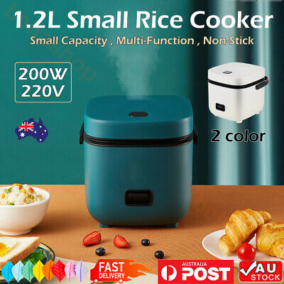 AU46.88 • Buy 1.2L Electric Rice Cooker Portable Mini Small Rice Cook For 1-2 Person AU Pulg