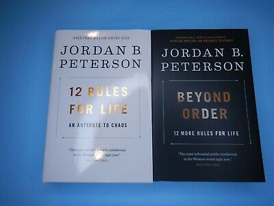 AU43.79 • Buy JORDAN PETERSON 12 RULES FOR LIFE (2018) & BEYOND ORDER (2021) Two Books