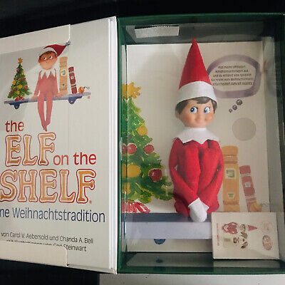 AU40 • Buy The Elf On The Shelf Tradition Book(German) With Toy Written In German