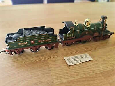 £19.95 • Buy TRIANG HORNBY MATT GREEN R354 GWR LORD OF THE ISLES 3046 LOCO & TENDER Needs TLC