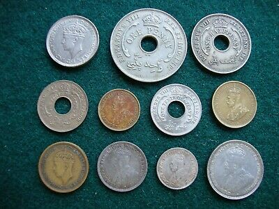 £9.99 • Buy British West Africa Coin Group (11)