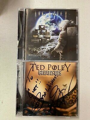 AU21.66 • Buy Ted Poley Cd Lot Of 2! Beyond The Fade & Greatestits Signed!