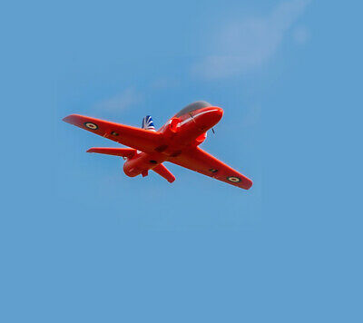 £134.99 • Buy Red Arrows Hawk EDF Jet Radio Control Model Plane Kit ,Be In The Air In Minutes!