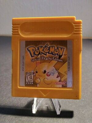 $45 • Buy Pokemon Yellow Special Pikachu Edition (1998) - Gameboy, GB - Tested, Authentic