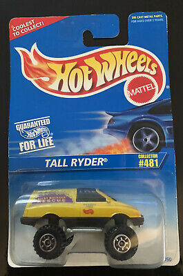 AU5 • Buy Hot Wheels HW Rocky Mountain Rescue Tall Ryder Yellow Collector #481 Long Card