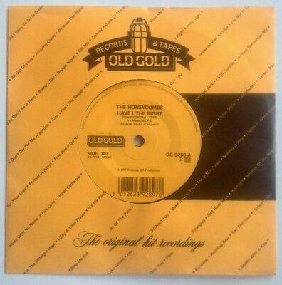 £3 • Buy THE HONEYCOMBS - HAVE I THE RIGHT / THAT'S THE WAY     OLD GOLD 7'' Vinyl Single