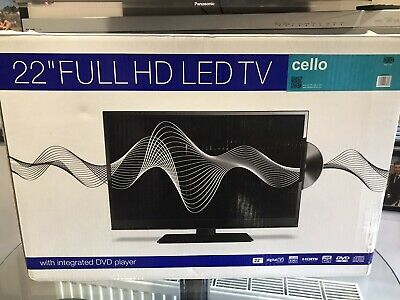 £100 • Buy 22 Inch 12/24v HD Led Tv With Built In DVD Player