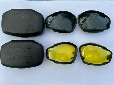 £8.99 • Buy Genuine British Army Issue ESS Advancer V12 Goggle Lenses Airsoft Pair