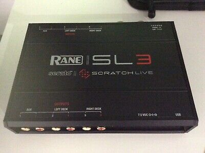 £400 • Buy Rane Serato SL3 With UDG Carry Case, CD & Vynal Control + All Accessories (Mint)