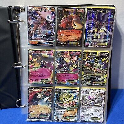 $149.99 • Buy Lot 500+ Pokemon Card Binder Collection Lot EX Holos Cards