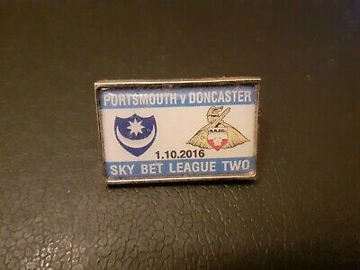 £1.75 • Buy PORTSMOUTH V DONCASTER MATCHDAY BADGE (01/10/2016 - DIV.2) NEW TO COLLECT.