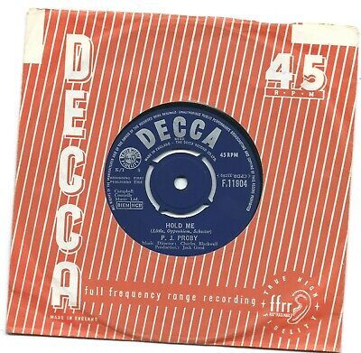 £2 • Buy P.J.Proby- Hold Me .Decca F.11904