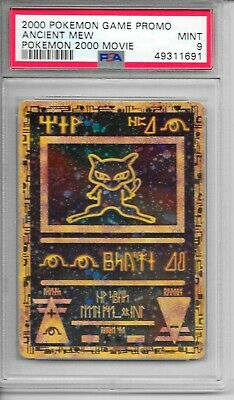 $0.99 • Buy Pokemon PSA 9 MINT Ancient Mew 2000 Movie Game PROMO Holo Card - FLAWLESS
