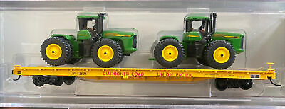 AU15.87 • Buy N Scale Collector NSC John Deere Tractor Union Pacific 60' Flat Car Special Run