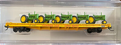 AU14.49 • Buy N Scale Collector NSC John Deere Tractor Union Pacific 60' Flat Car Special Run