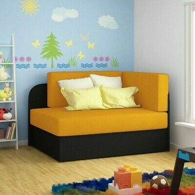£170 • Buy Children Corner Sofa Bed ROSA With Sleep Function Storage Container New
