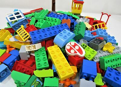 AU120 • Buy LEGO Duplo Huge Bulk Lot Mixed Bricks And Other Various Pieces Ages 2-5 Years
