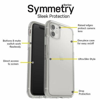 AU40 • Buy Slim Clear Symmetry Case, Drop Protection With Style, ALL IPhone Models