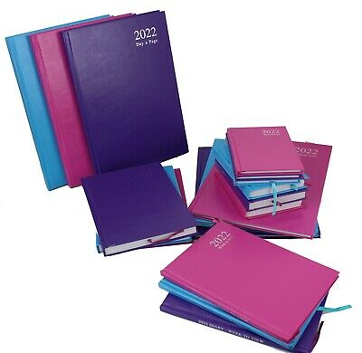 £5.95 • Buy 2022 A4 A5 A6 Diary Day To Page Or Week To View Desk Diary Year Planner Diaries