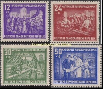 £2.13 • Buy EBS East Germany DDR 1952 - National Reconstruction - Michel 303-306 MH*