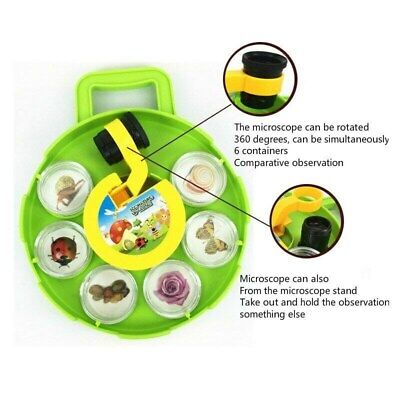 £16.78 • Buy Field Microscope Bug Insects Collection Viewer Toy Gift Kids Children UK