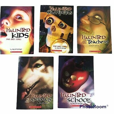£9.37 • Buy True Ghost Stories Lot Of 5  Paperback Books By Allan Zullo Scholastic Books