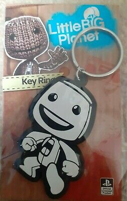£6 • Buy LITTLE BIG PLANET Collectable Keyring White Sackboy NEW SEALED Official Sony