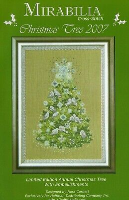 £19 • Buy Mirabilia Limited Edition Cross Stitch Chart - Annual Christmas Tree 2007