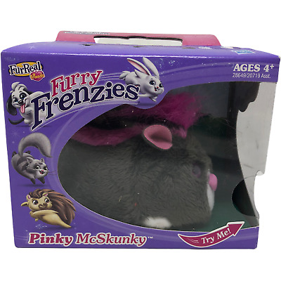 £30.97 • Buy NIP FurReal & Friends Furry Frenzies Pinky McSkunky 2010 Funny Sounds Tiger