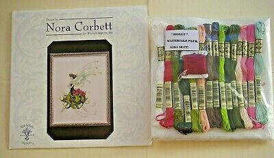 £59.99 • Buy MIRABILIA  KIT    HOLLY    CROSS STITCH KIT   Pixie Couture Collection