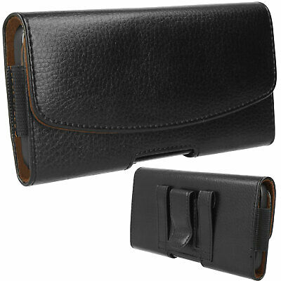 £4.95 • Buy For Samsung A12 A03s A02 A32 A42 A21 Leather HOLSTER Pouch Case Belt Clip & Loop