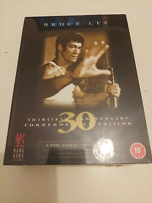 £29.99 • Buy Bruce Lee 30th Anniversary Commemorative Edition 6 Dvd Box Set New And Sealed