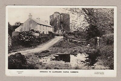 £8.50 • Buy Great Old Real Photo Card Llawhaden Castle Narberth Around 1915 Pembrokeshire