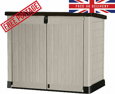 £198.59 • Buy Keter Store It Out MAX Garden Lockable Storage Box XL Shed Outside Bike Bin Tool