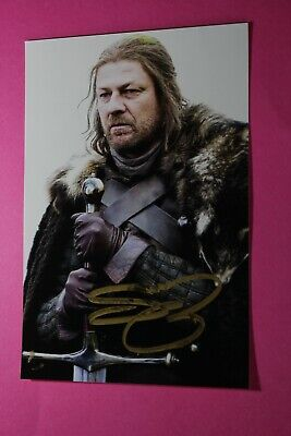 £3 • Buy Sean Bean (Game Of Thrones) Signed Photo
