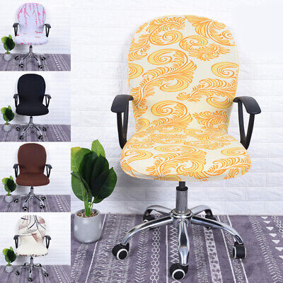 AU7.99 • Buy Swivel Chair Cover Stretchable Removable Computer Office Washable Slipcover